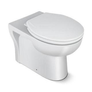 Hindware Malibu P Type Closet with Cistern (Sleek Fresh) Starwhite