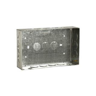 Anchor GI Sheet Metal Boxes 20 Gauge 1 or 2 Module
