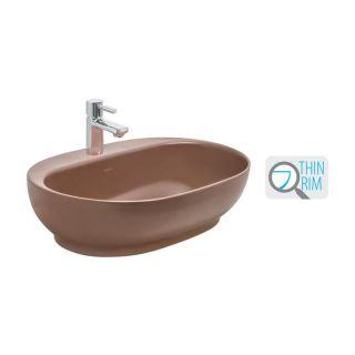 Cera Cafe Silk Cappuccino Colour Wash Basin