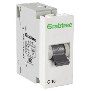 Crabtree Amare 16 A Sp 'C' Mini Mcb