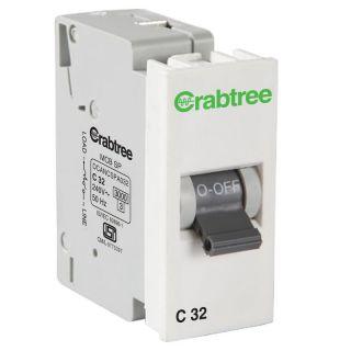 Crabtree Amare 32 A Sp 'C' Mini Mcb