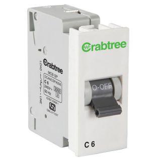 Crabtree Amare 6 A Sp 'C' Mini Mcb