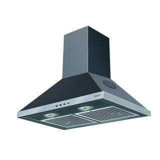 Faber Topaz 3D T2S2 Bk Pb Ltw 60 3D Kitchen Chimney