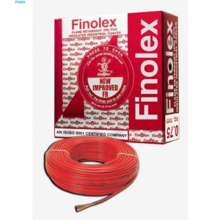 Finolex Electrical Cable 1.5 sqmm Red 180 mtrs