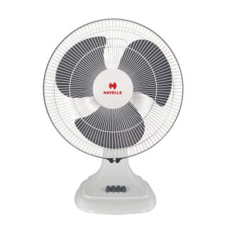 Havells Accelero Hs 400mm Table Fan White Grey
