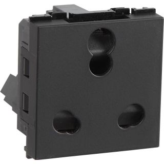 Havells Carbon 6 A - 16 A 3 Pin Shuttered Socket