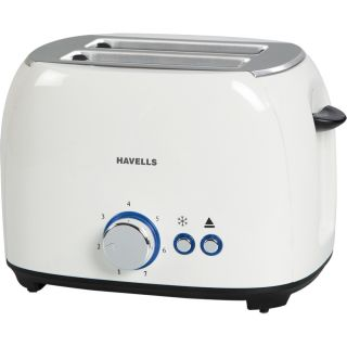 Havells Crust Pop-up Toaster 2 Slices White