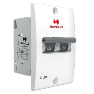 Havells Mini MCB DP-20 A